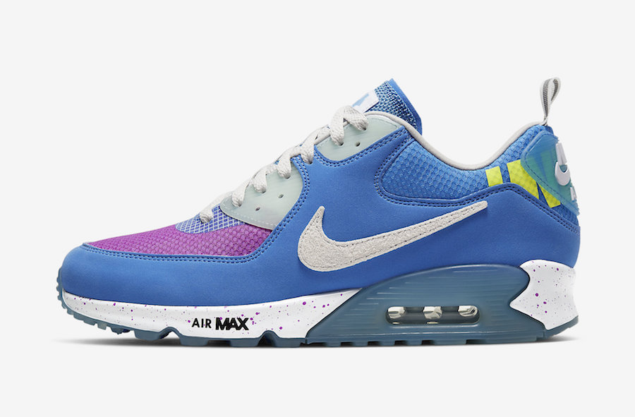 Undefeated Nike Air Max 90 Pacific Blue CQ2289-400 Release Date