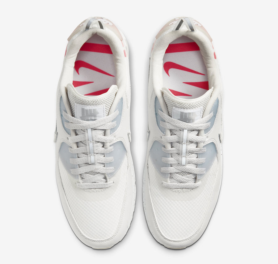 Undefeated x Nike Air Max 90 Platinum Tint CQ2289-001 Release Date