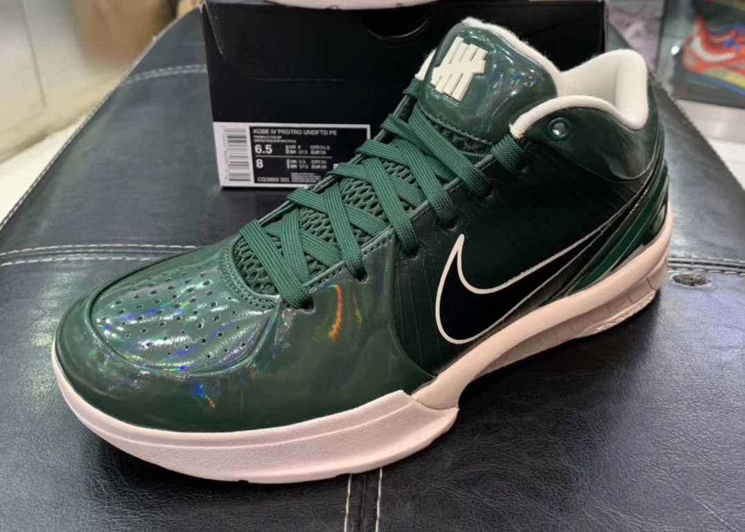 Undefeated Nike Kobe 4 Protro Fir Green CQ3869-301 Release Date Info