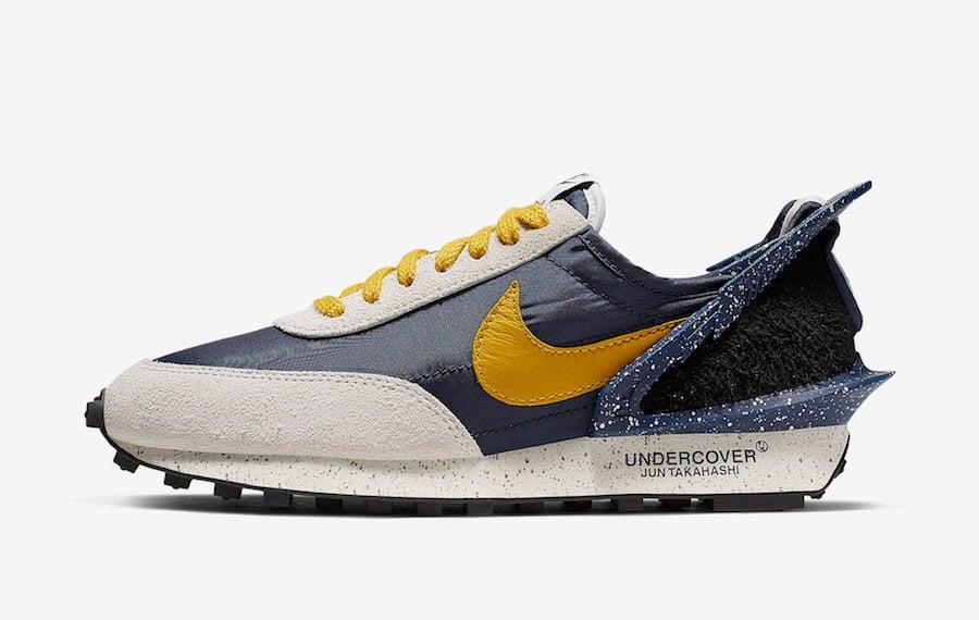 Undercover Nike Daybreak Obsidian Gold Dart CJ3295-400 Release Date Info