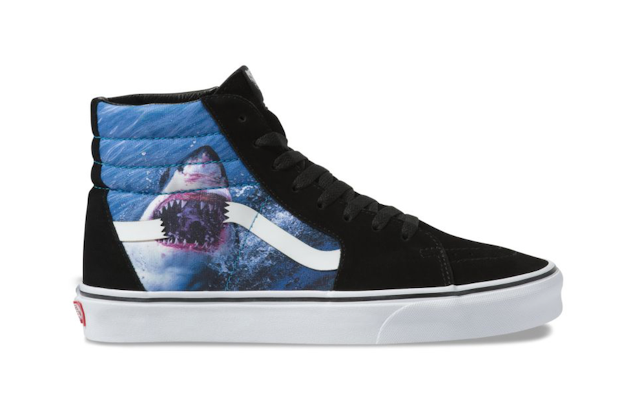 Vans SK8-Hi Shark Week 2019 Collection Release Date Info