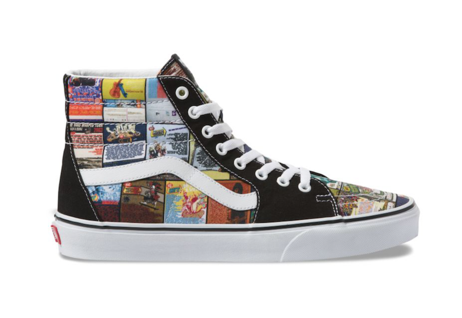 Vans SK8-Hi Warped Tour 25 Years Release Date Info