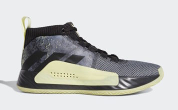 adidas Dame 5 Grey Black Yellow F36933 Release Date Info