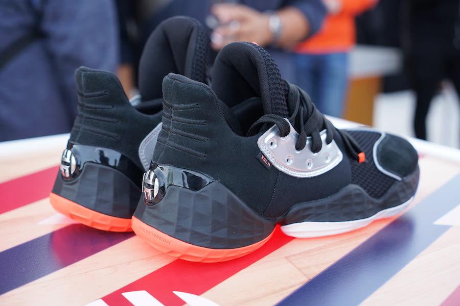 adidas Harden Vol 4 Black Orange Release Date