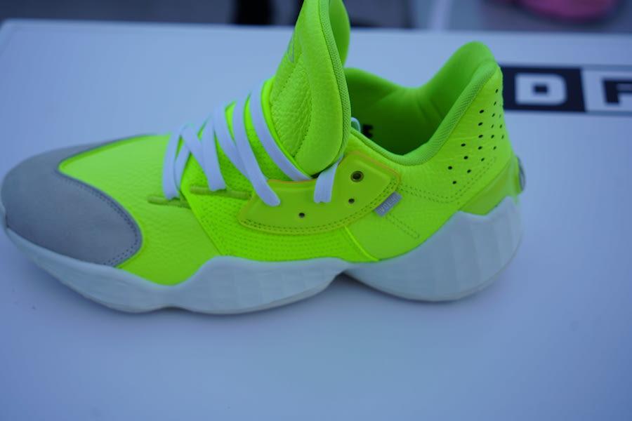 adidas Harden Vol 4 Neon