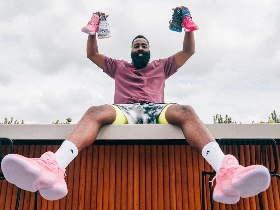 adidas Harden Vol 4 Pink Lemonade Release Date