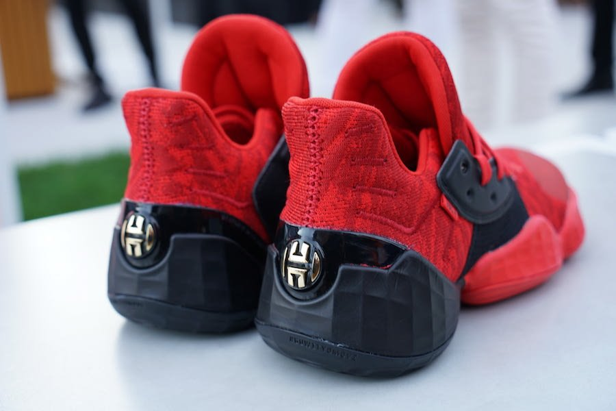 adidas Harden Vol 4 Red Black Release Date