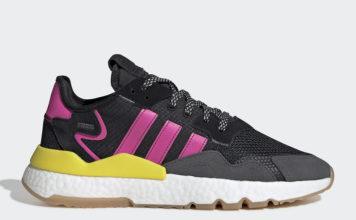 adidas Nite Jogger Black Shock Pink Gum EG2955 Release Date Info