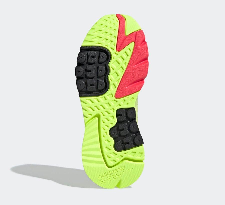 adidas Nite Jogger Semi Frozen Yellow EE5911 Release Date Info
