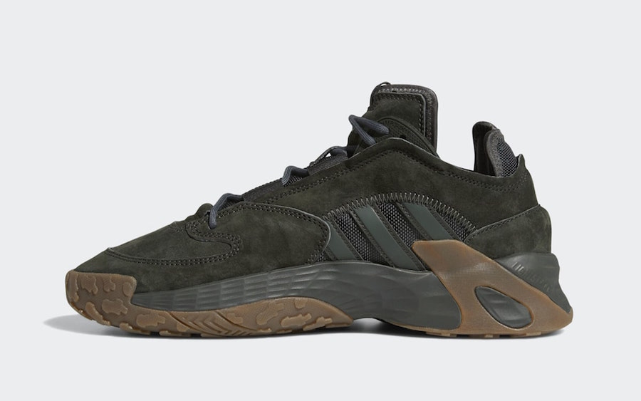 adidas Streetball Olive Gum Release Date Info