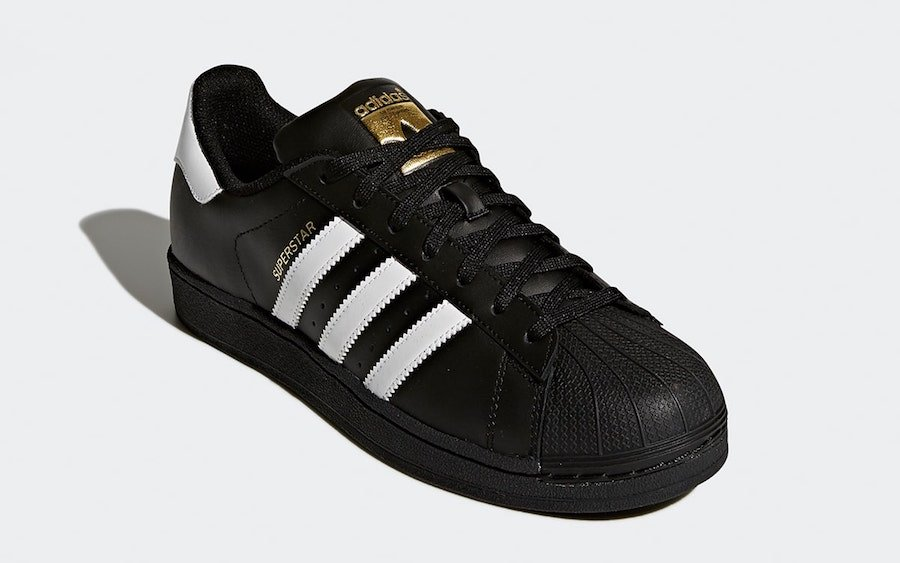 adidas Superstar Foundation Black White Gold B27140 Release Date Info