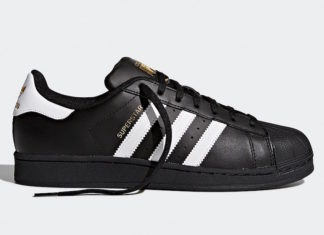 adidas Superstar Foundation Black White Gold B27140 Release Date Info