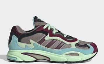 adidas Temper Run Green Maroon EE7741 Release Date Info