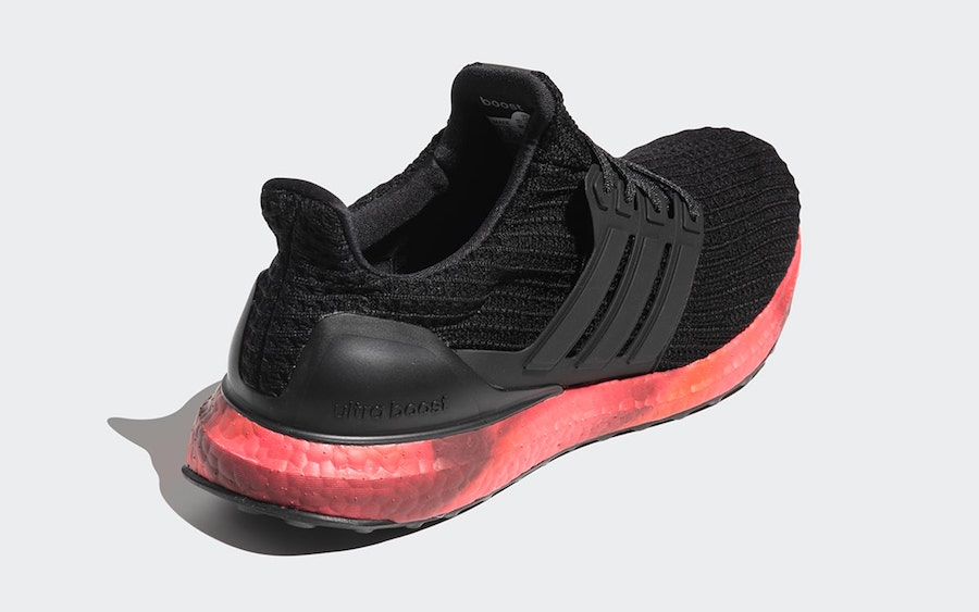 adidas Ultra Boost Black Red FV7282 Release Date Info