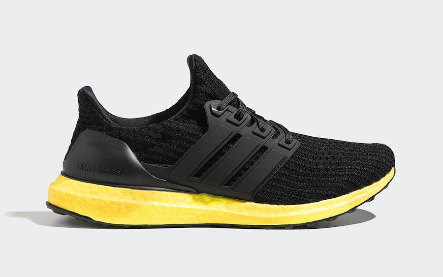 adidas Ultra Boost Black Yellow FV7280 Release Date Info