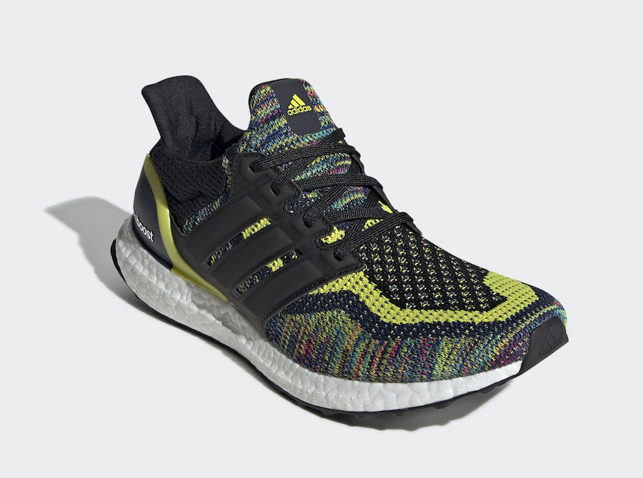 adidas Ultra Boost Multicolor Navy Black Yellow EG8106 Release Date Info