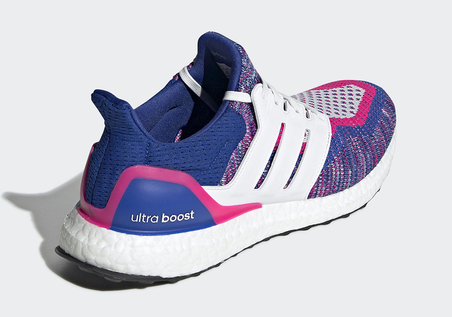 adidas Ultra Boost Multicolor White Blue Pink EG8107 Release Date Info