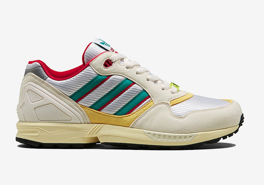 adidas ZX 6000 Creme Red Yellow FU8405 Release Date Info