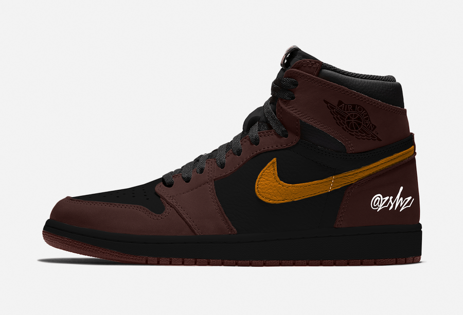 Air Jordan 1 Baroque Brown Black Laser Orange 555088-201 Release Date Info | SneakerFiles