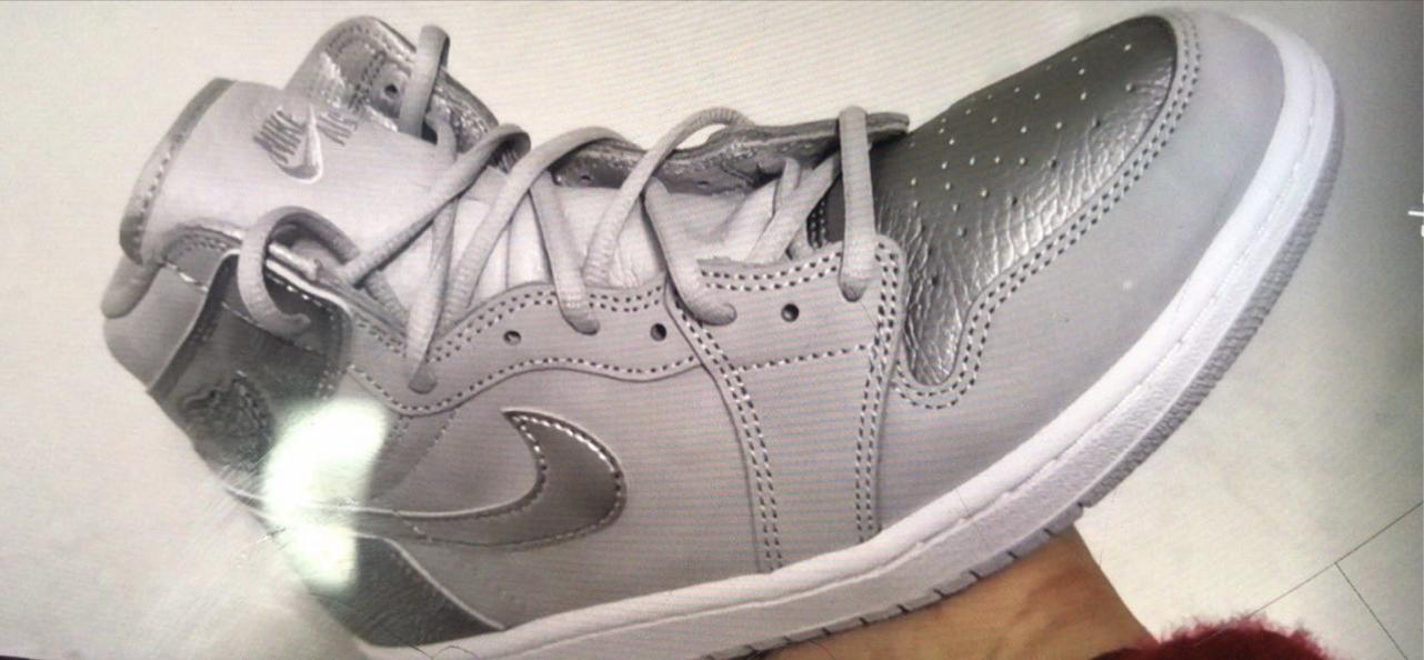 Air Jordan 1 Japan Neutral Grey Metallic Silver White 555088-029 Release Date