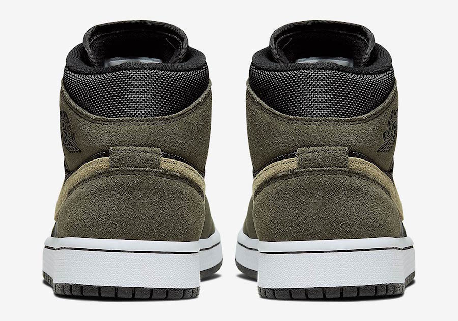 Air Jordan 1 Mid Olive Green BQ6472-030 Release Date Info