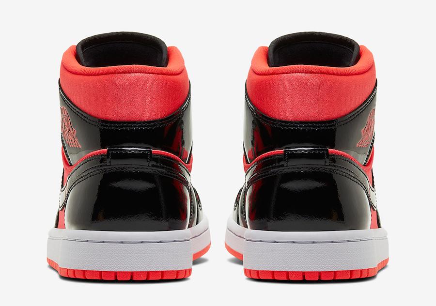 Air Jordan 1 Mid WMNS Hot Punch Black BQ6472-600 Release Date Info