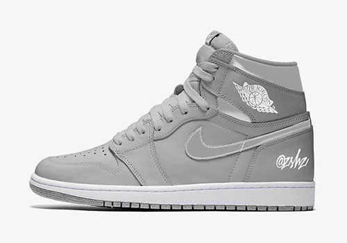 Air Jordan 1 Neutral Grey Metallic Silver 2020 Release Date