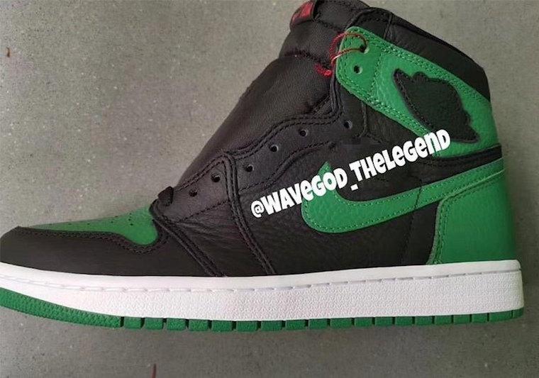 Air Jordan 1 Pine Green Gym Red 555088-030 Release Info