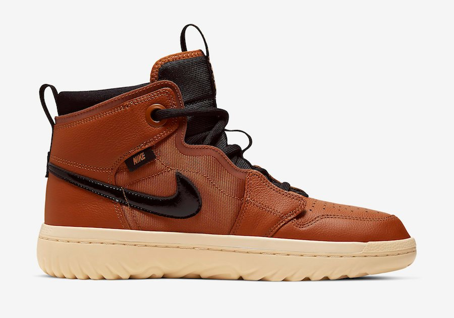 Air Jordan 1 React Brown Tan AR5321-200 Release Date Info