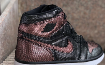 Air Jordan 1 WMNS Fearless Rose Gold Release Date Info