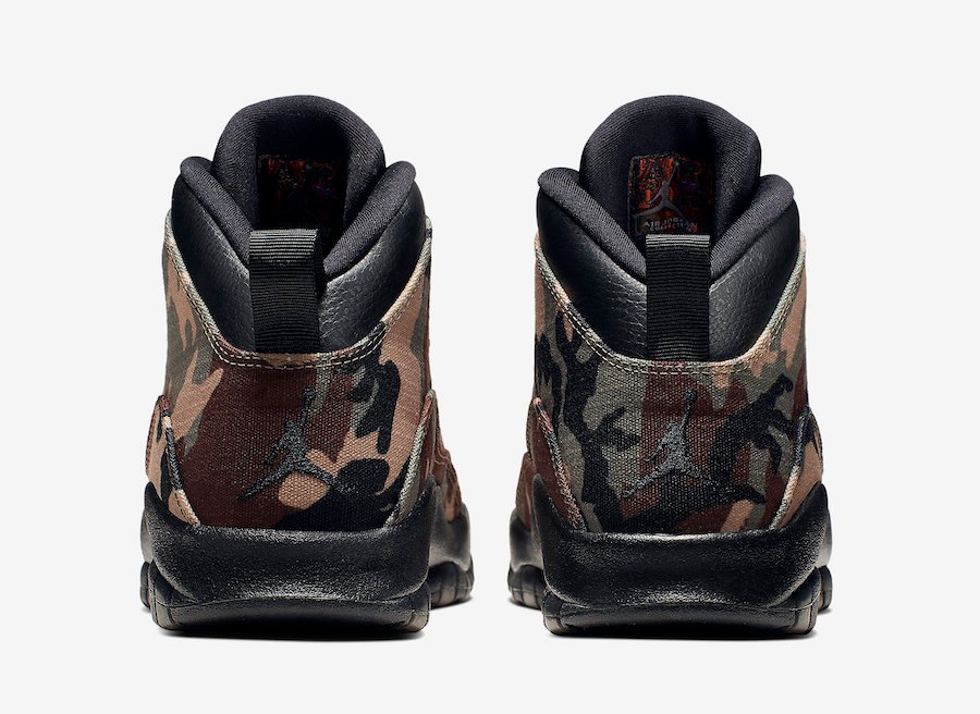 Air Jordan 10 Camo 310805-201 Release