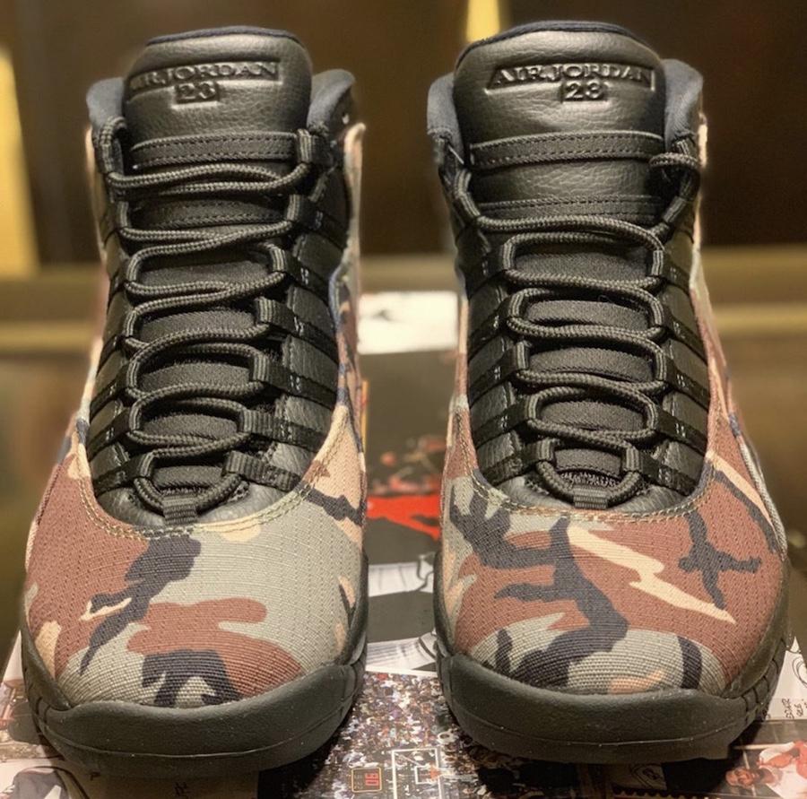 Air Jordan 10 Camo 310805-201 Release Date