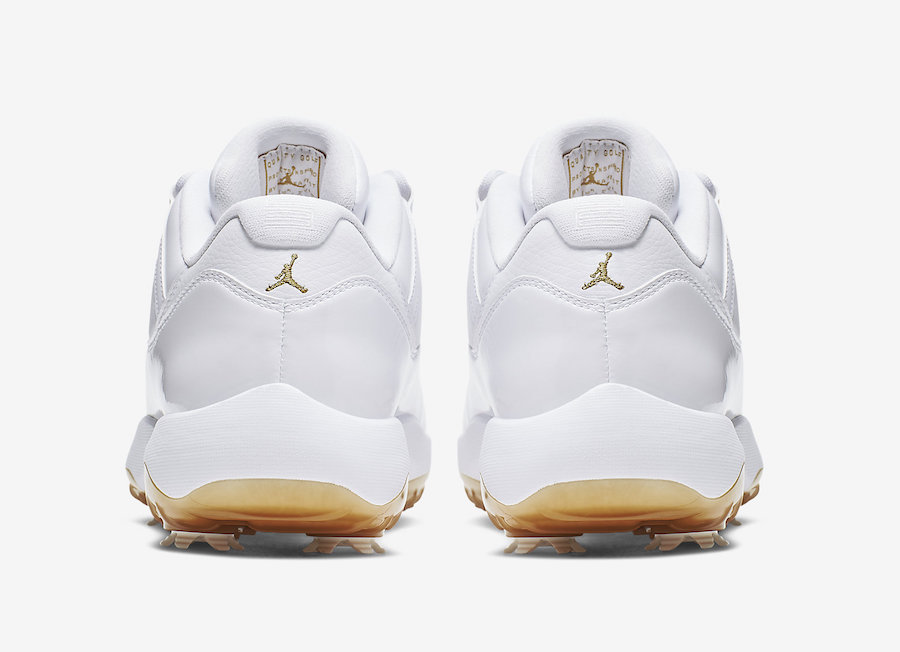 Air Jordan 11 Low Golf White Metallic Gold AQ0963-102 Release Date Info