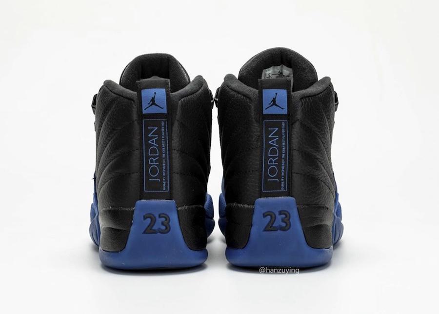 black and blue jordans new release