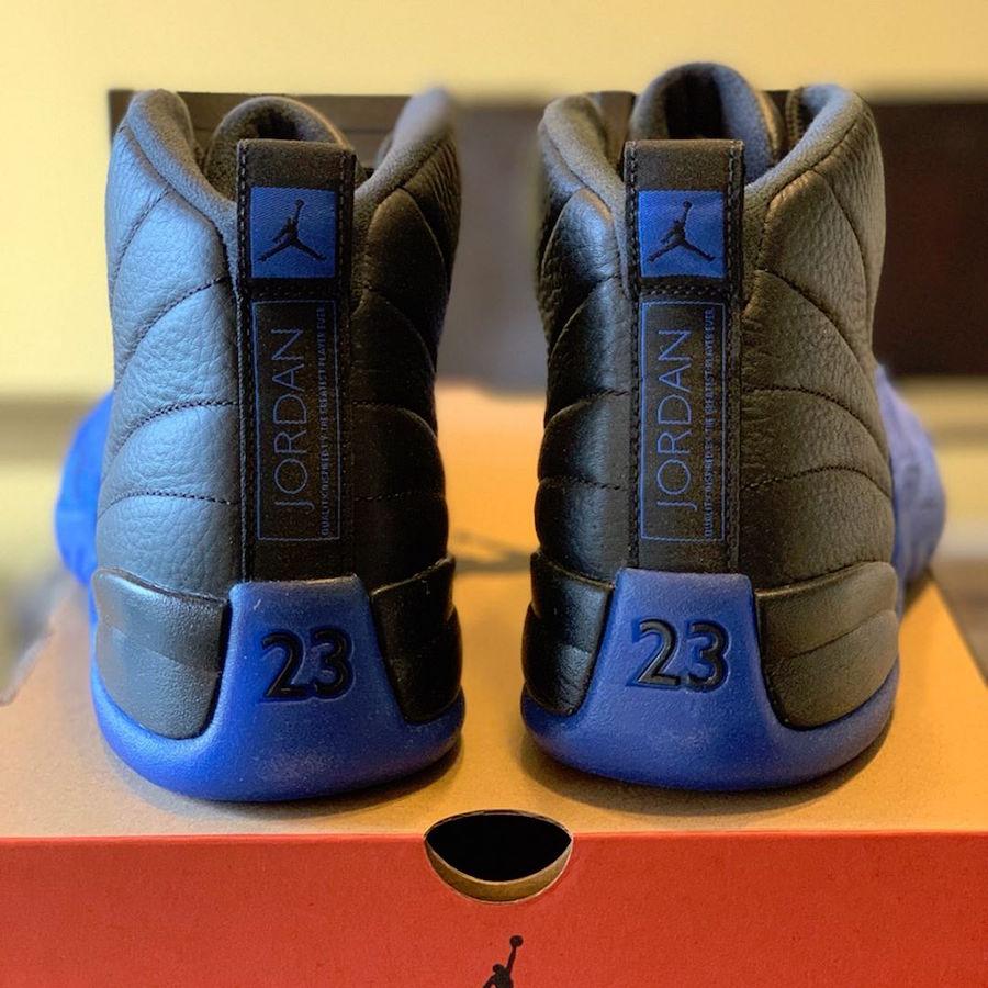 Air Jordan 12 Black Game Royal 130690-014 Release Date