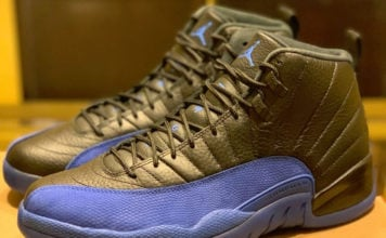 Air Jordan 12 Black Game Royal 130690-014 Release Date