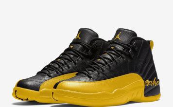 Air Jordan 12 Black University Gold 130690-070 Release Date