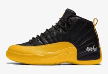 Air Jordan 12 Black University Gold 130690-070 Release Date Info