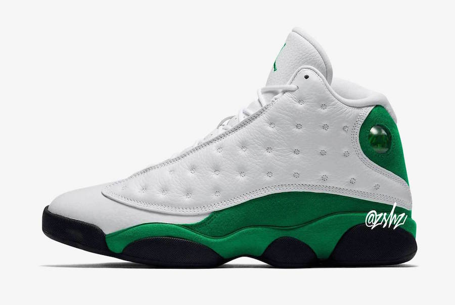 Air Jordan 13 Lucky Green 414571-113 Release Date Info