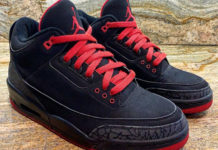Air Jordan 3 Bred 2007 Look See Sample