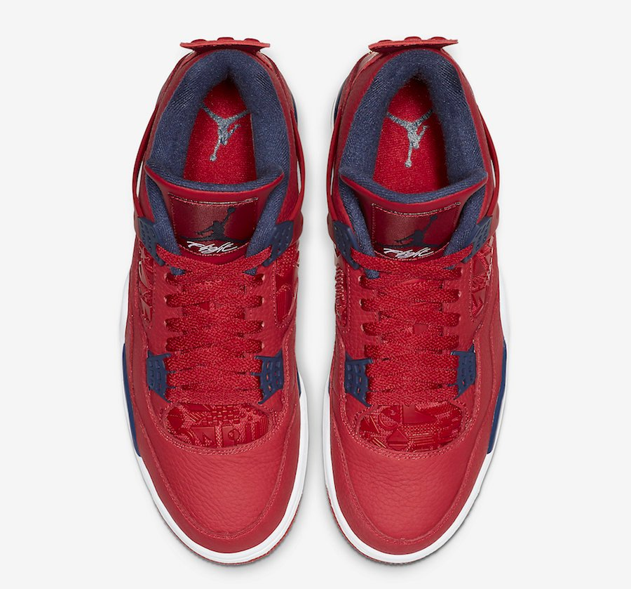 Air Jordan 4 FIBA Gym Red CI1184-617 Release Details
