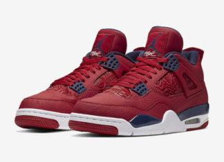 Air Jordan 4 FIBA Gym Red CI1184-617 Release Details