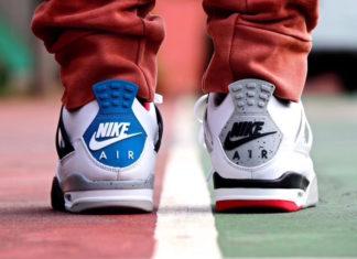 Air Jordan 4 What The On Feet CI1184-146