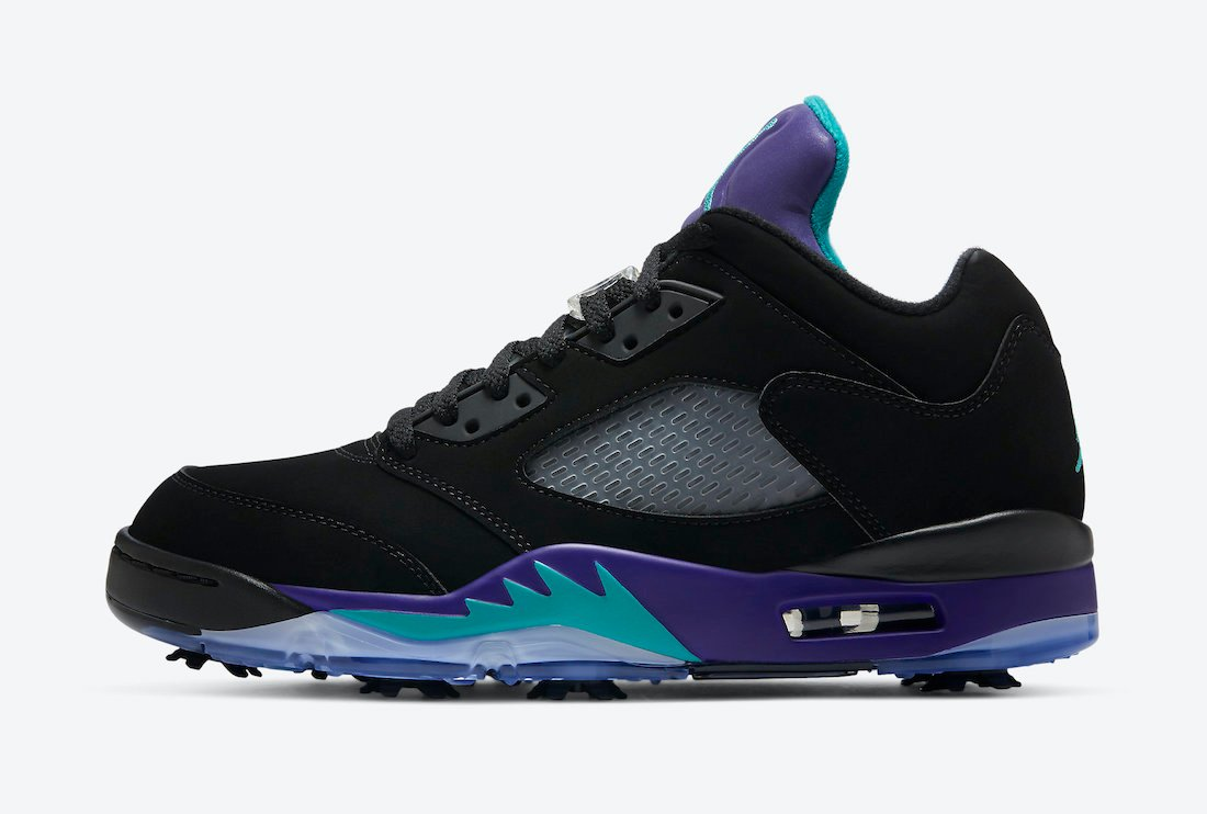 Air Jordan 5 Low Golf Black Grape CU4523-001 Release Date