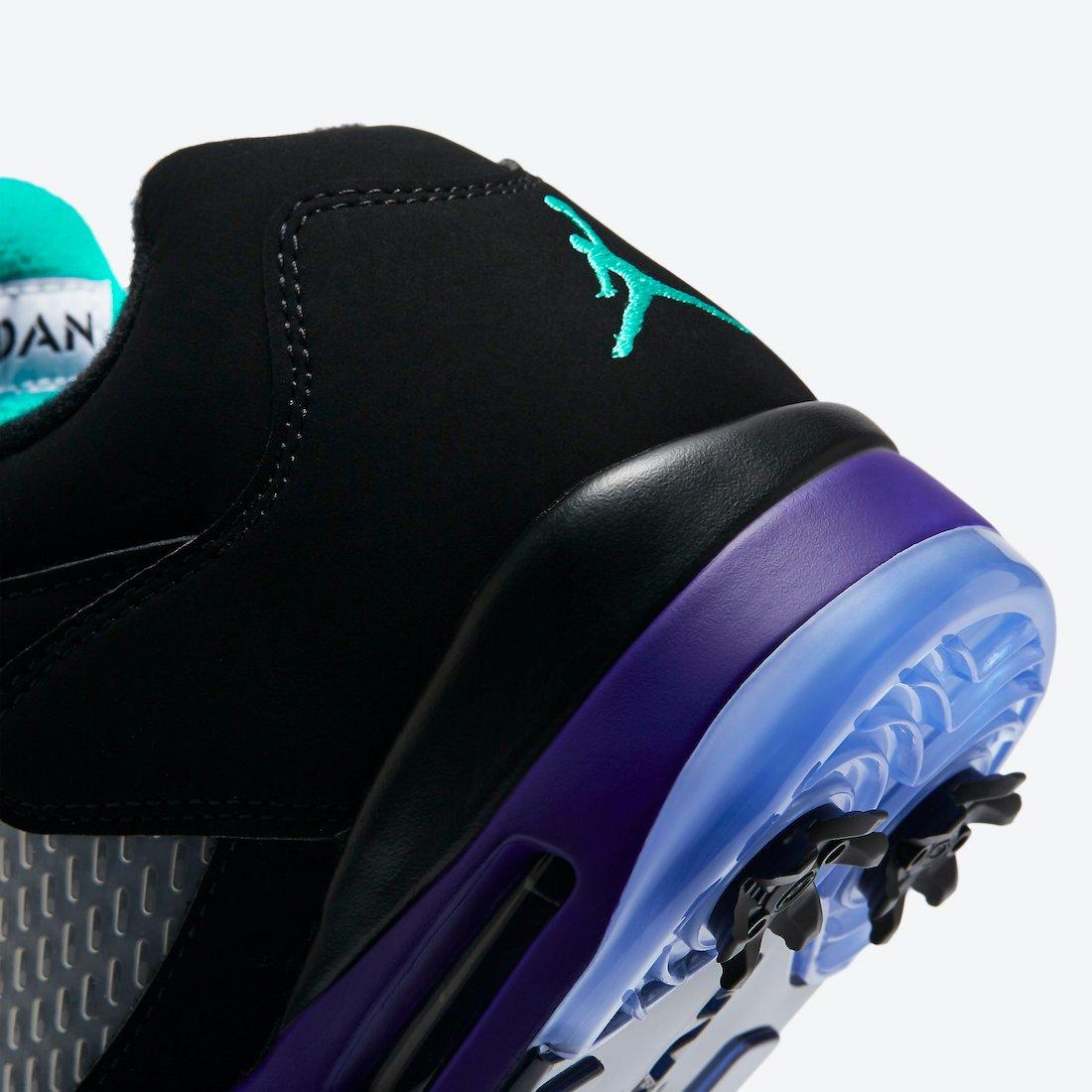 Air Jordan 5 Low Golf Black Grape CU4523-001 Release Date