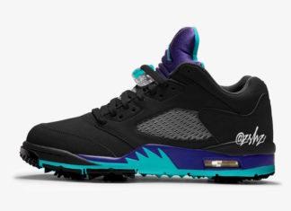 Air Jordan 5 Low Golf Black Grape CU4523-001 Release Date Info