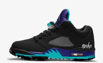 Air Jordan 5 Low Golf Black Grape CU4523-001 Release Date Info