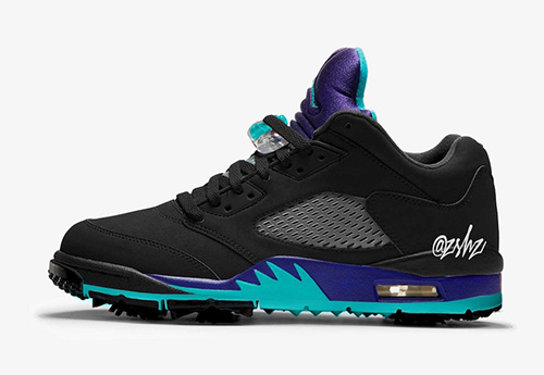 Air Jordan 5 Low Golf Black Grape Release Date