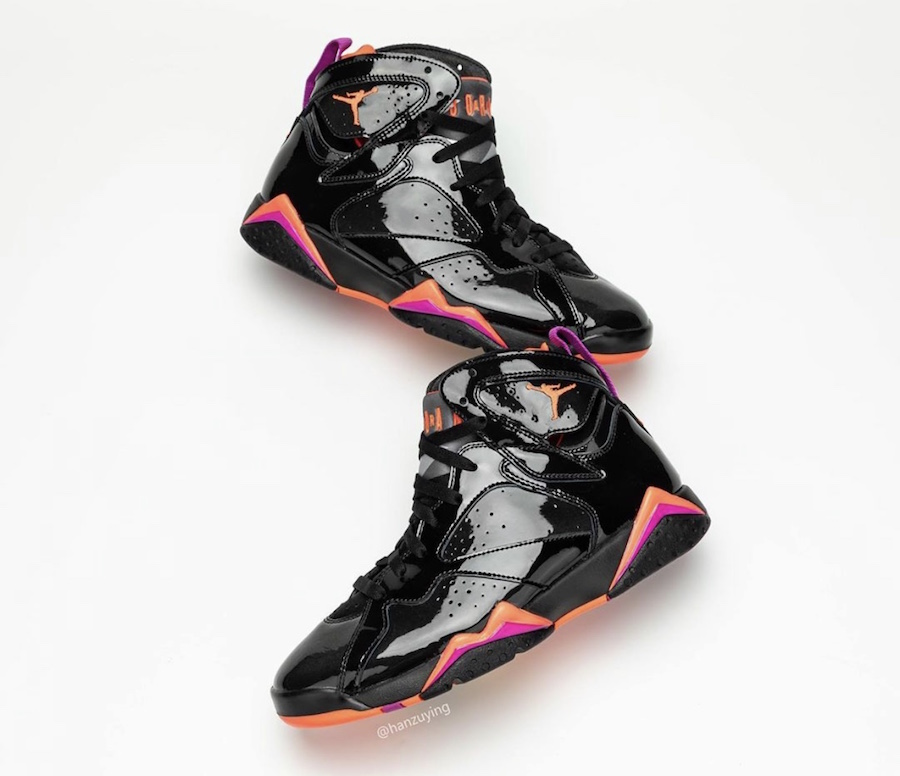 Air Jordan 7 WMNS Black Patent Leather 313358-006 Release Date Info