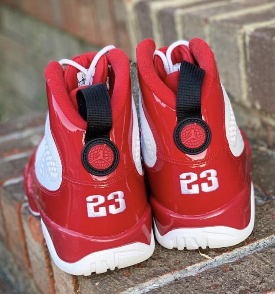 Air Jordan 9 Gym Red 302370-160 2019 Release Date